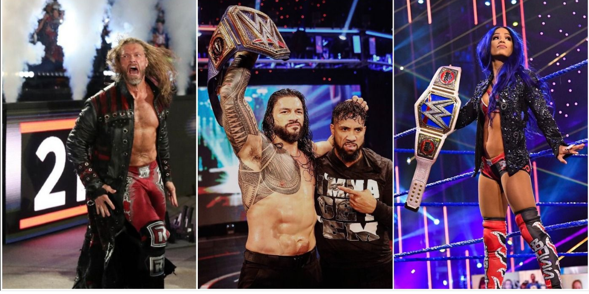 5 Best Wwe Moments Of 2020 In 2021 Wwe The Wyatt Family Wrestling News