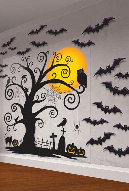 Halloween Wall Decorations Office Halloween Decorations