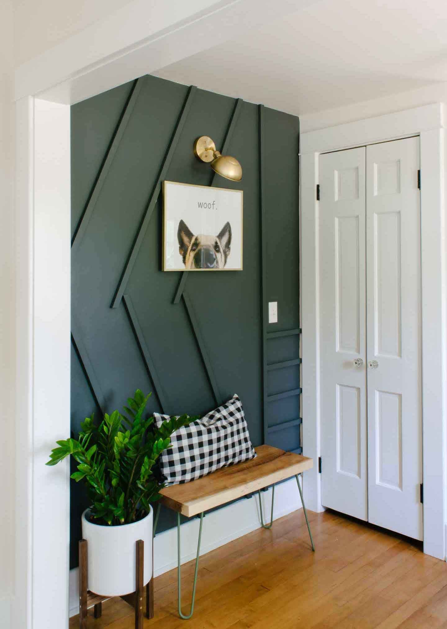 Modern Wood Accent Wall Ideas Small Apartment Decorating Home