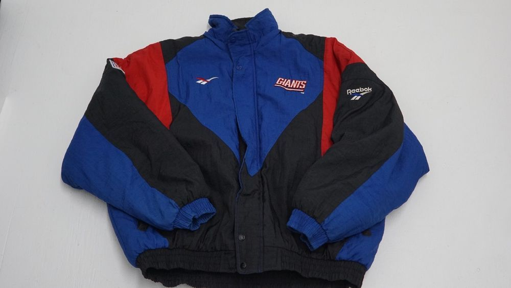 3d44ca29c Reebok NFL 90s Proline New York Giants Parka Jacket