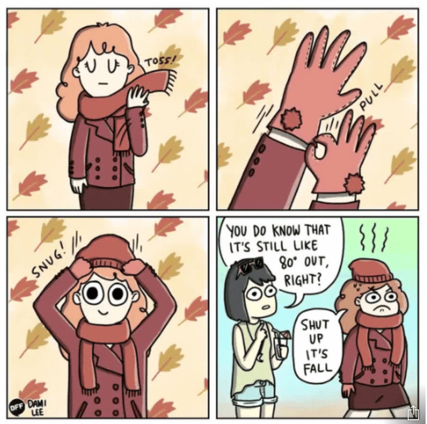 September Weather Fall Humor Fall Memes Fall