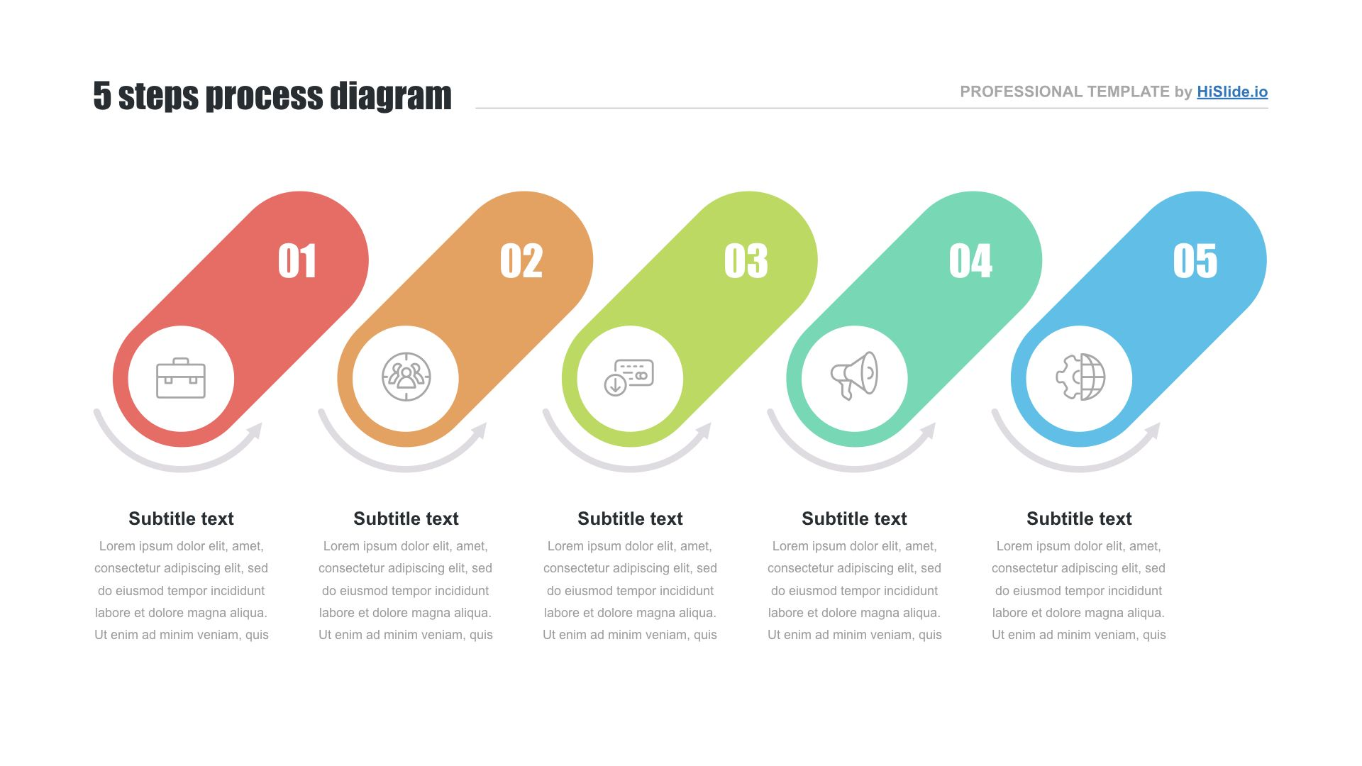 Powerpoint Process Diagram Hislide Io Download Now Powerpoint Flow Chart Template Powerpoint Presentation Templates