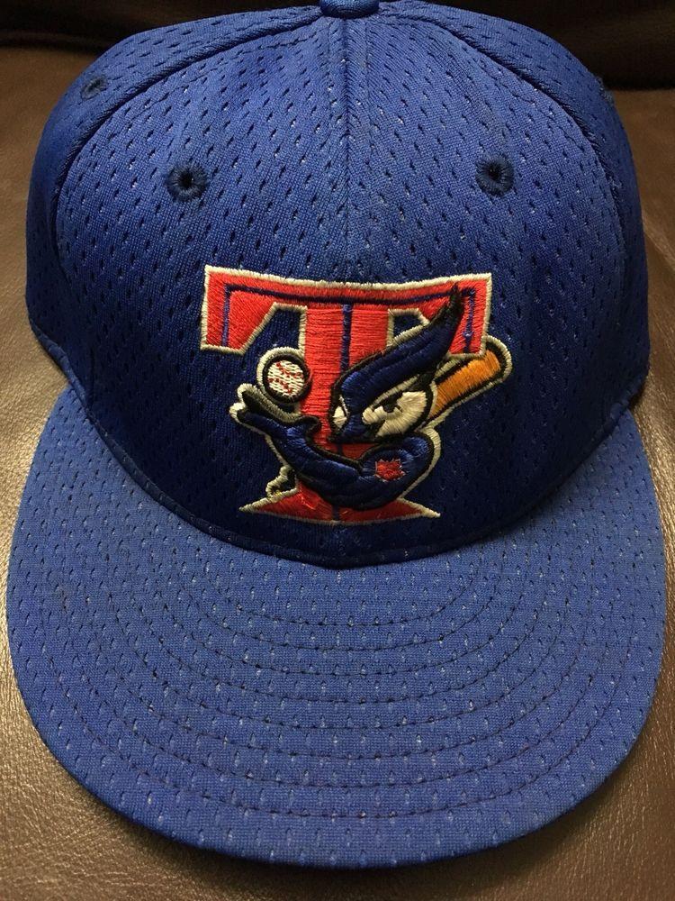 9f51f116b 8C VTG Rare Toronto Blue Jays New Era Fitted Hat Jersey Style MLB ...