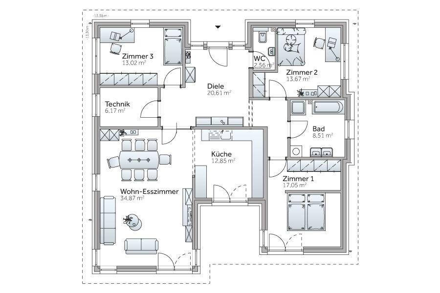 ideenfindung traumhaus pinterest grundrisse hausbau. Black Bedroom Furniture Sets. Home Design Ideas