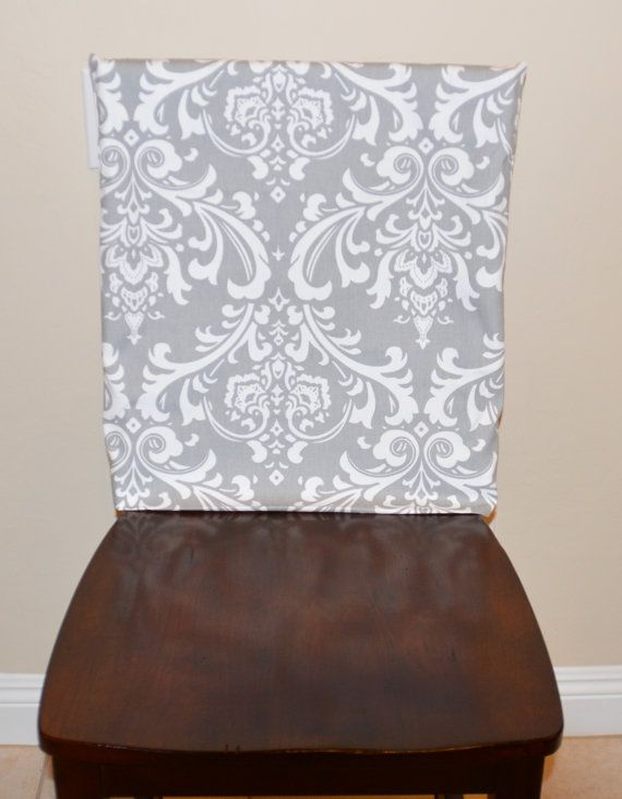 Kitchen Chair Slipcover Chair Back Cover By Brittaleighdesigns Chair Back Covers Slipcovers For Chairs Kitchen Chairs