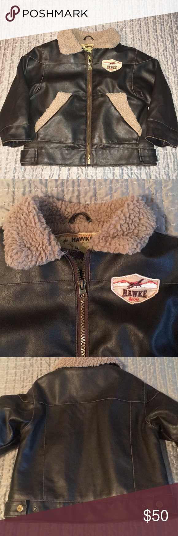 Hawke Co Vegan Leather Brown Bomber Jacket Worn Once For Pics Hawke Co Faux Leather Bomber Jacket Brown Bomber Jacket Faux Leather Bomber Jacket Jackets [ 1740 x 580 Pixel ]