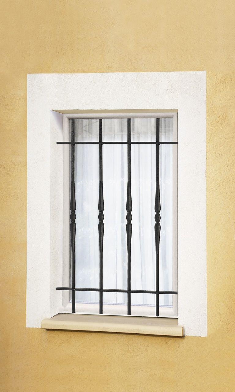 le ferronnier grille de fen tre en fer forg armelle gfarmelle window treatment. Black Bedroom Furniture Sets. Home Design Ideas