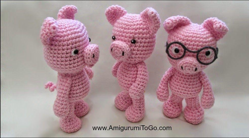 crochet mini panda patterns free - Google Search   galería ...