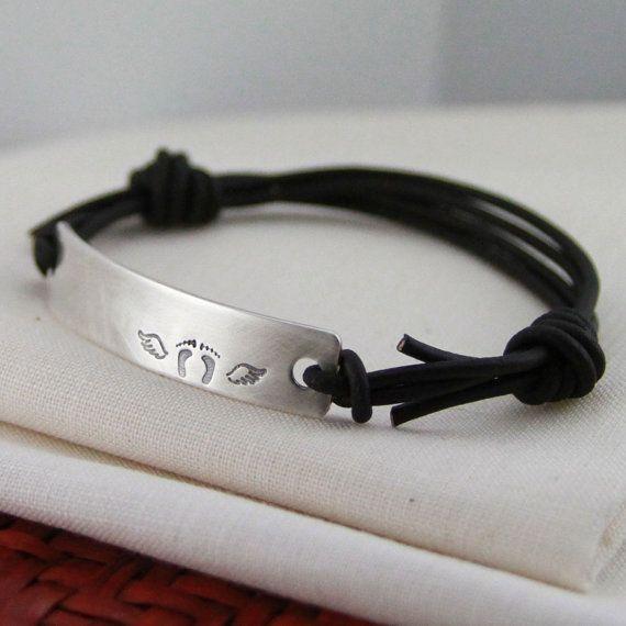 Baby Loss Miscarriage Bracelet Sympathy Gift By Remembermyangel