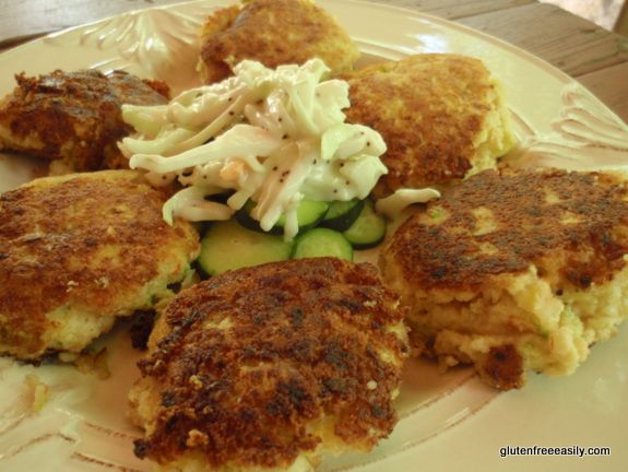 Coconut Shrimp Cakes - I would sub 1/2 the almond flour for dried coconut to up the coconut flavor.