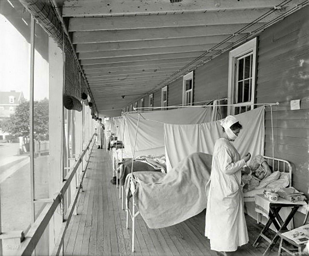 Quarantine hospital