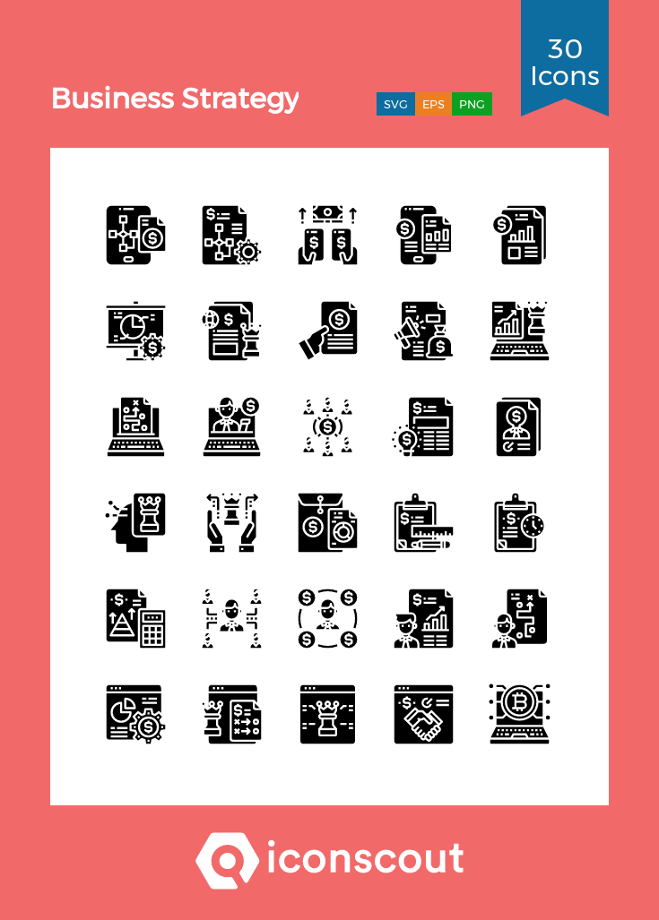 Download Business Strategy Icon Pack Available In Svg Png Eps Ai Icon Fonts In 2020 Business Strategy Icon Pack Icon