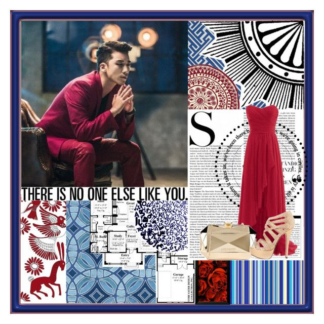"""""""Seungri"""" by alphyomega ❤ liked on Polyvore featuring nanimarquina, Love Moschino, bigbang and kpop"""