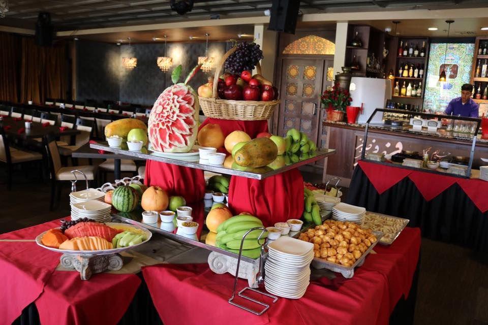 Sufi Mediterranean Cuisine San Diego Decor Table