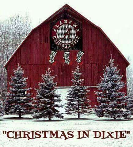 Christmas In Dixie.Christmas In Dixie Roll Tide All Things Alabama Rtr