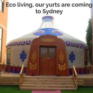 Yurt Luxury Traditional Wooden 5m Top Of The Range