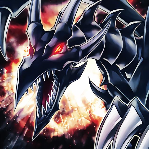 Red Eyes Insight By Newarkantos Dark Evil Card Art Black Dragon