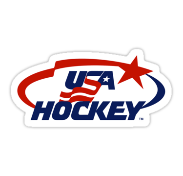 Usa Hockey Logo Sticker By Sarahhovo Hockey Logos Usa Hockey Team Usa Hockey