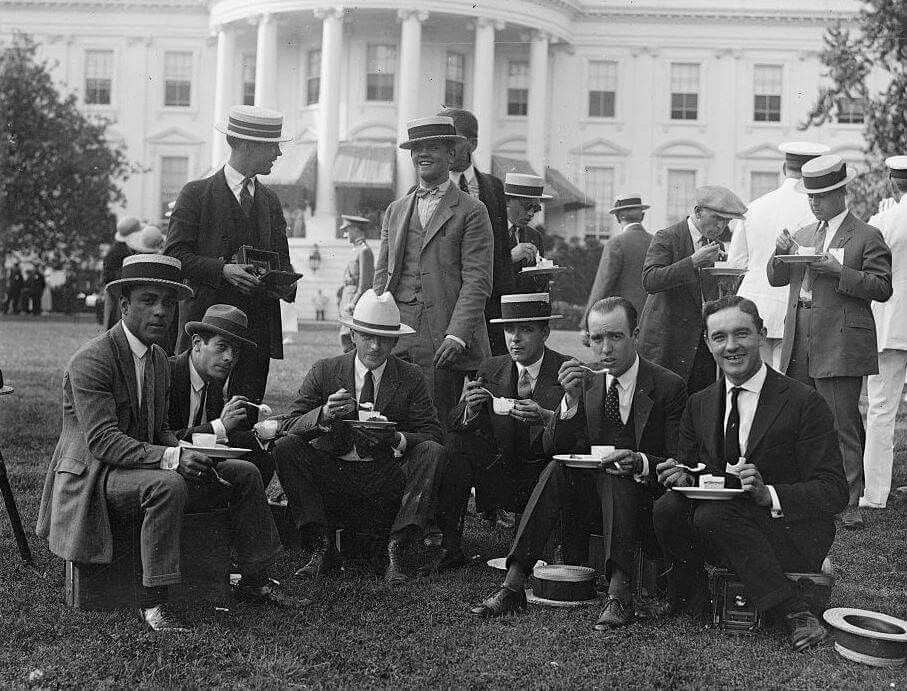 White house staff photographers 1909