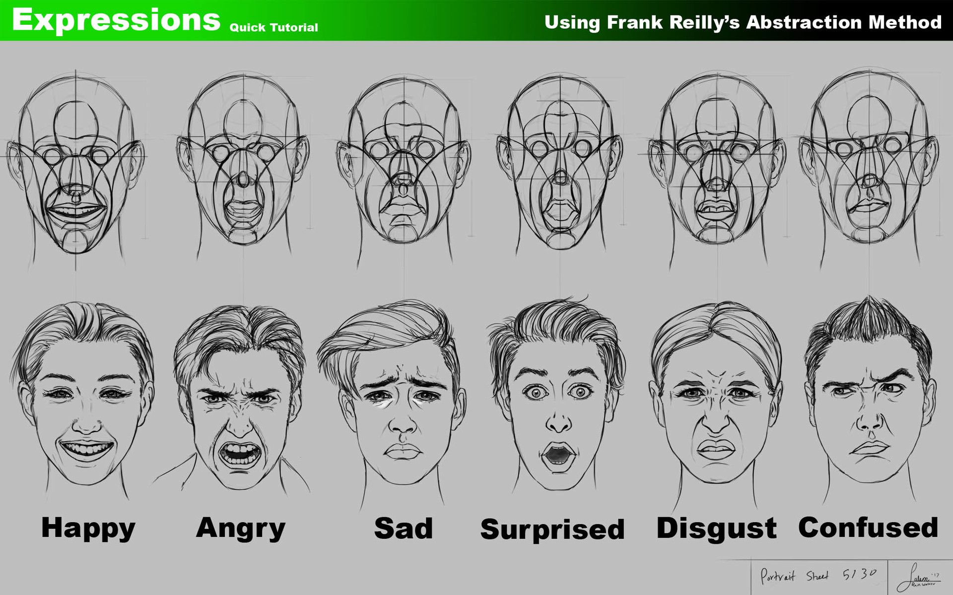 Image Result For Image How Draw Facial Expressions