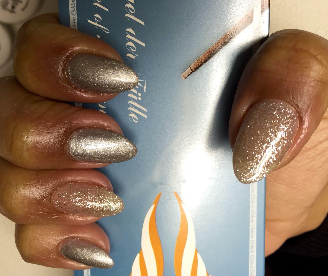 Gold#silber#glitzer | Nägel/Nails/wimpernextensions/ | Pinterest ...