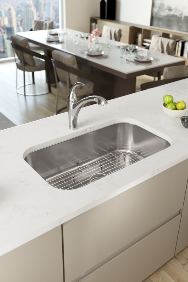 Offering Stainless Steel Kitchen Sinks In A Variety Of Materials
