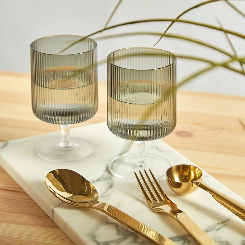 Ferm Living Ripple Wine Glasses Set Of 2 In 2020 Wine Glasses Ferm Living Glass Blowing