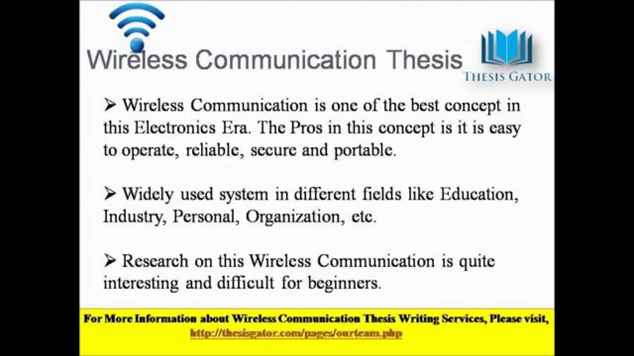 Best Wireles Communication And Network Security Thesi Writing Service In India By Thesisgator Com Dissertation On Education