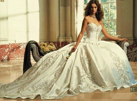 Erotica wedding dress