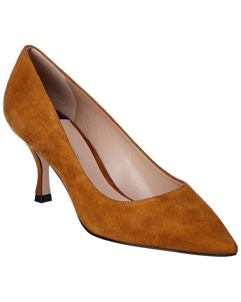 e97c83eecee1 Stuart Weitzman Suede Pump  fashion  clothing  shoes  accessories   womensshoes  heels