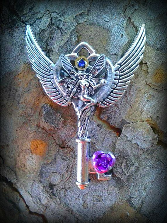 Fairy Dance Fantasy Key by ArtbyStarlaMoore on Etsy, $15.00