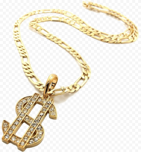 Gold Dollar Chain Thug Life Thug Life Gold Thug
