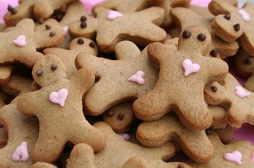 It's the gingerbread man