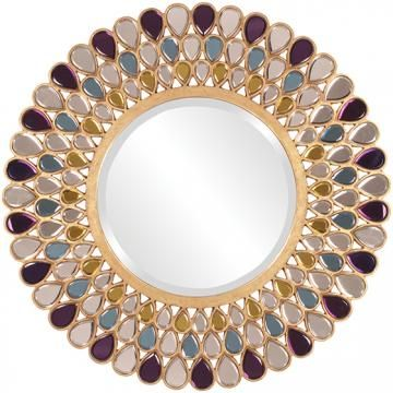 Grace Mirror - Round Mirrors - Wall Mirrors - Mirrors - Decorative ...