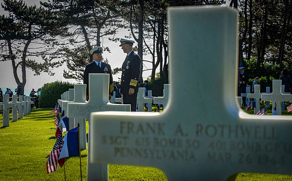 NORMANDY, France (June 6, 2019) Master Chief Petty Officer