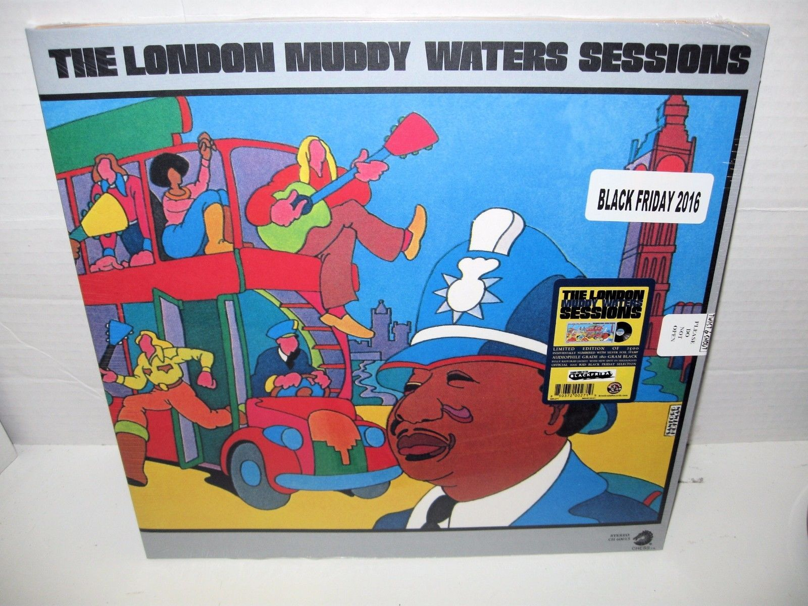 Black Friday 2016 Usa Muddy Waters The London Muddy Waters Sessions Vinyl Lp Rsd Black