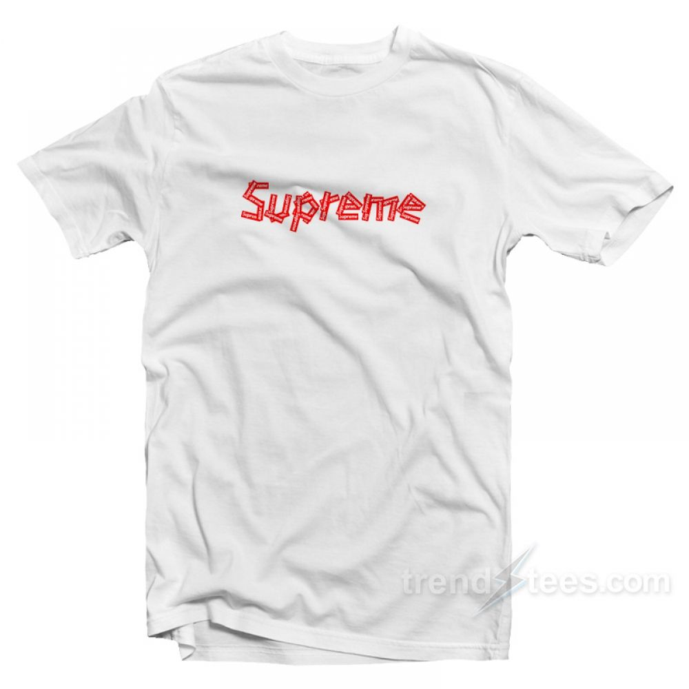 7b8a54ac56979 Hypebeast Supreme T-shirt in 2019 | T-shirt | Cheap shirts, Custom ...