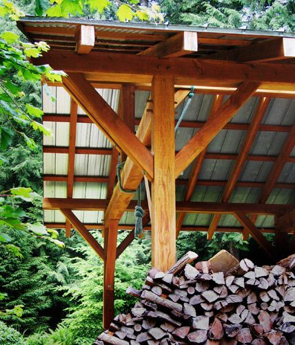 Alternatives Plans For The Carport Designs Wooden Carport: Sometimes Seeing The Metal