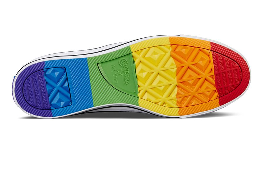 Converse release limited-edition sneakers for LGBTI Pride season ... 32682d179