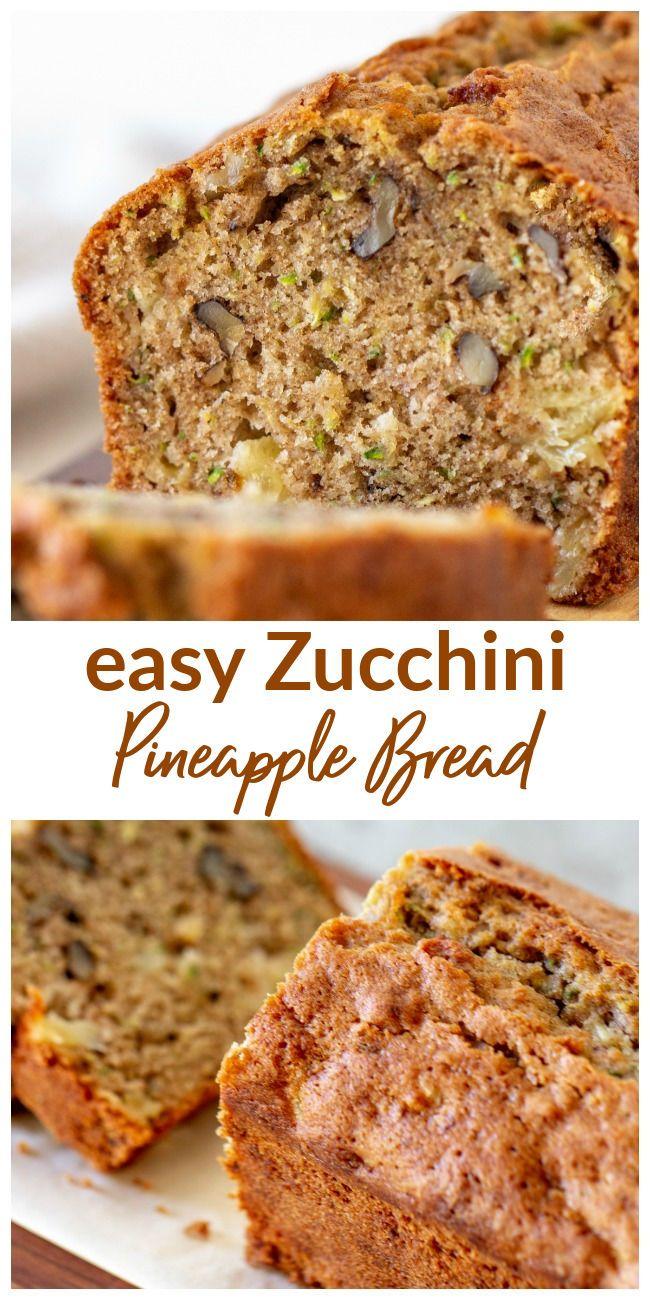 zucchini pineapple bread  recipe  pineapple bread