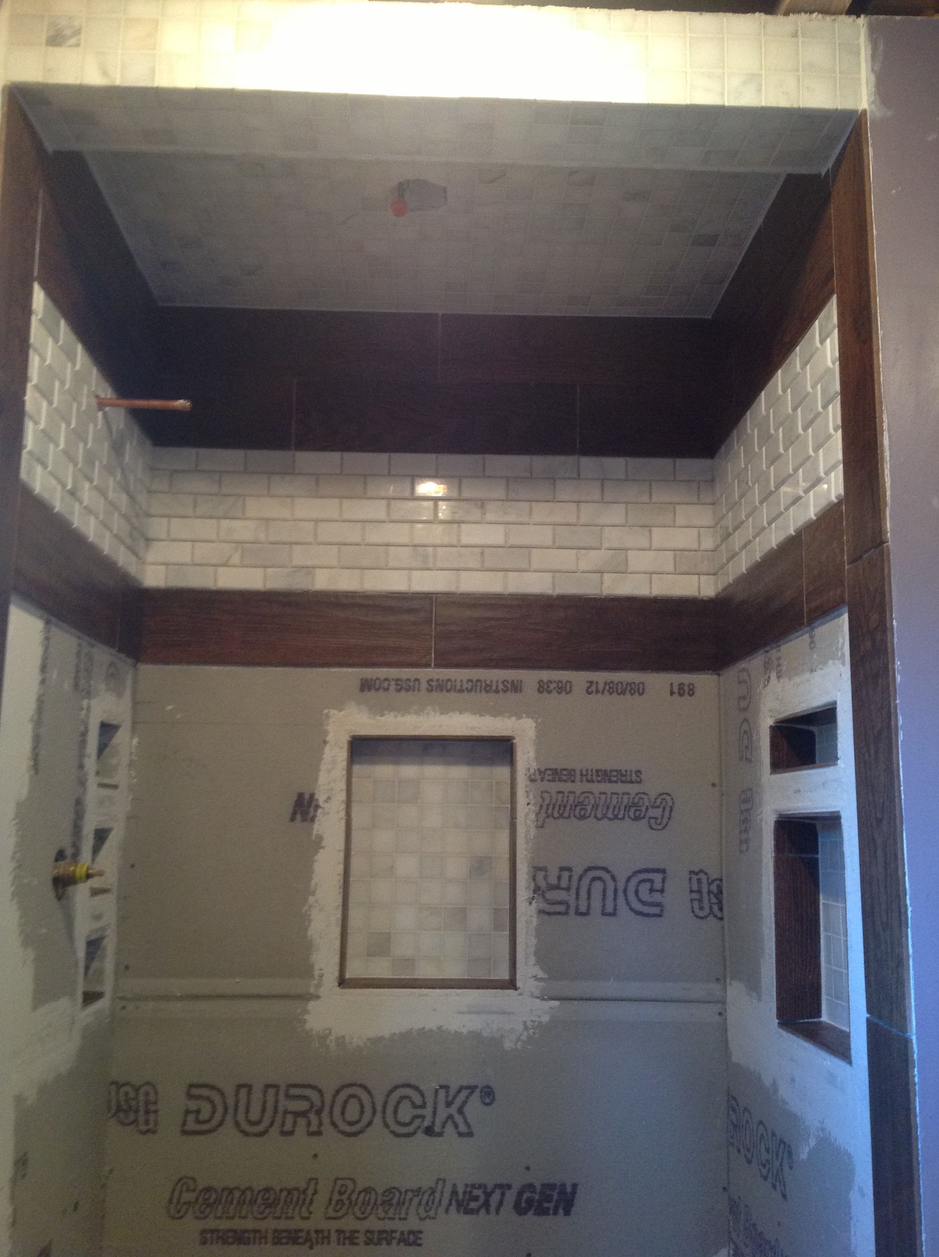 DIY shower stall | Rental House Remodel | Pinterest | Diy shower ...