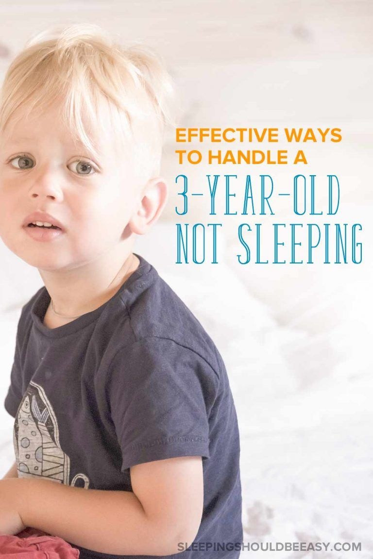 Dealing with a 3 year old not sleeping is frustrating for ...