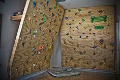 Home Climbing Wall home indoor rock climbing wall | home climbing | pinterest