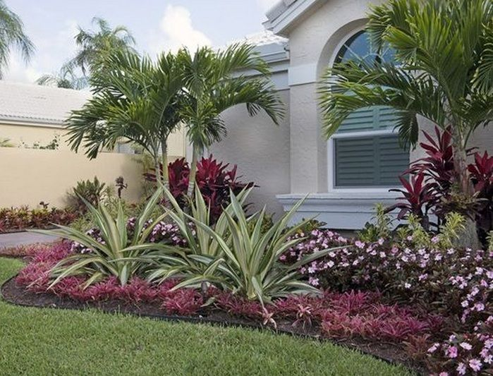 florida landscaping ideas front