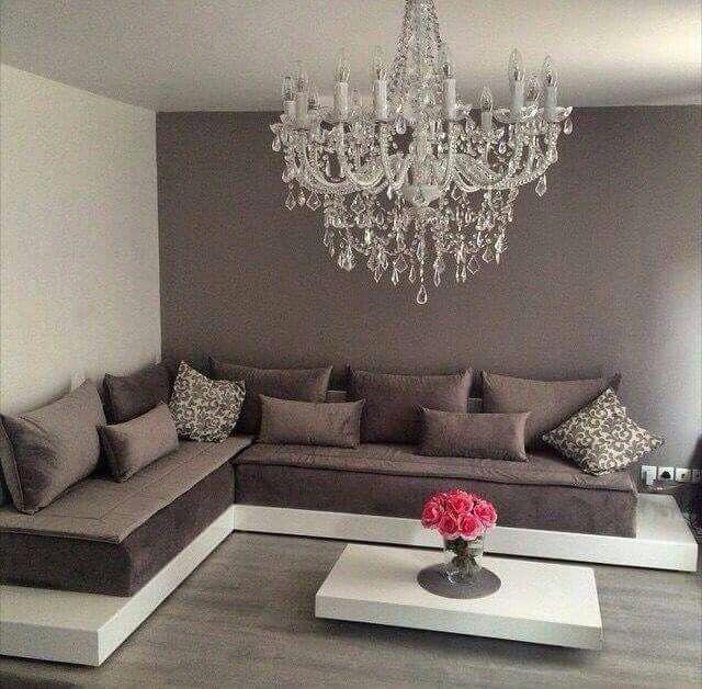 Salon taupe | déco et rangement | Living room designs, Home Decor ...
