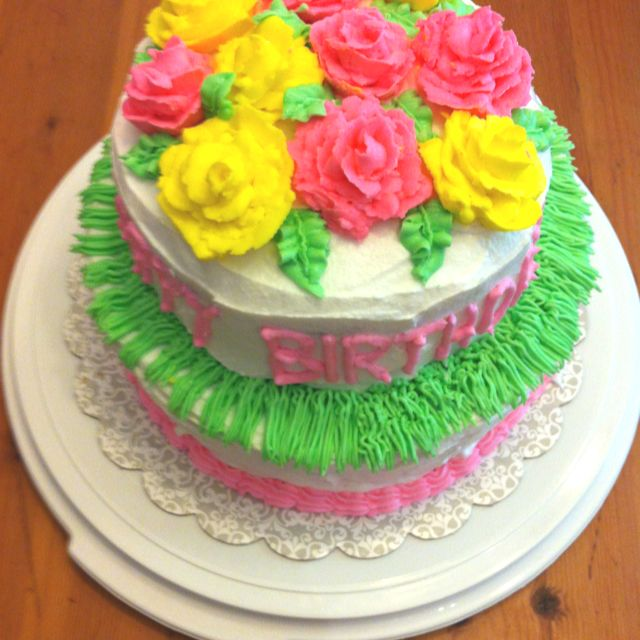 Birthday cake for my daughters 21st birthday Cake Ideas