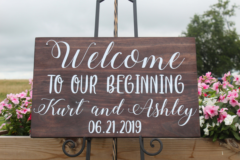Boho wedding welcome sign/personalized wedding welcome sign/wood wedding welcome sign/welcome sign/personalized wedding sign/wooden sign #weddingwelcomesign