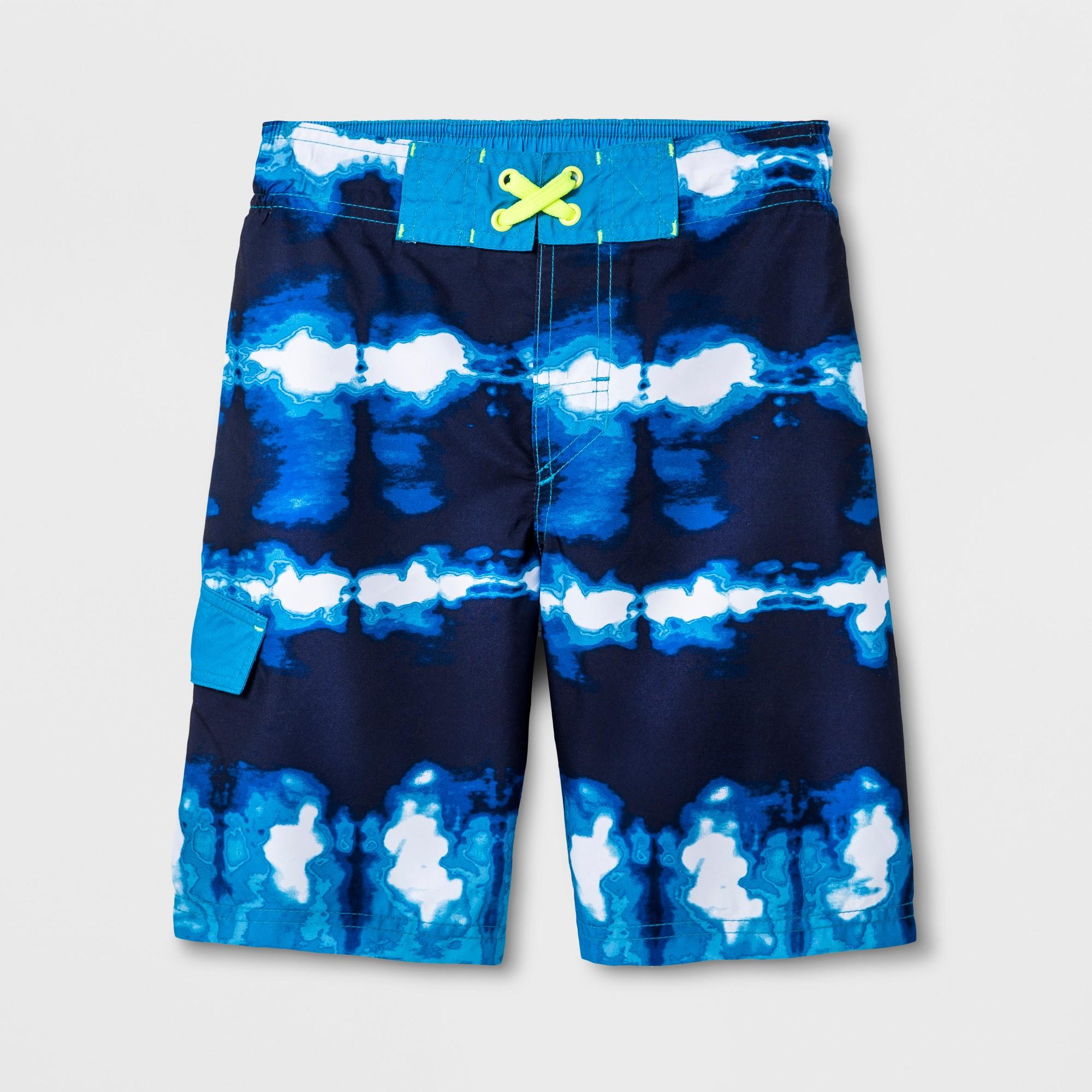 ba3d2f73e1 Boys' Swim Trunk - Cat & Jack Navy L, Blue | Products | Swim trunks ...