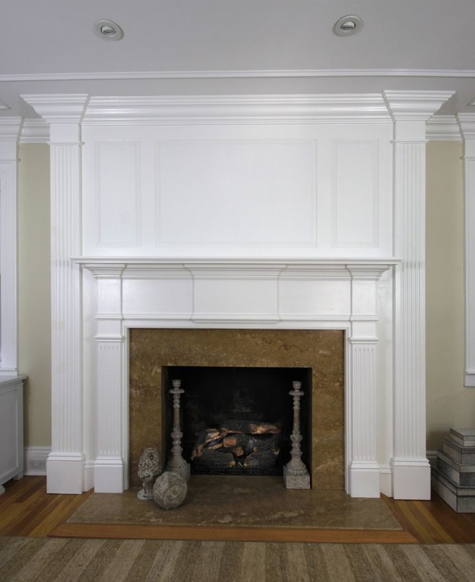 Mantel 1 Mantel Great Rooms House