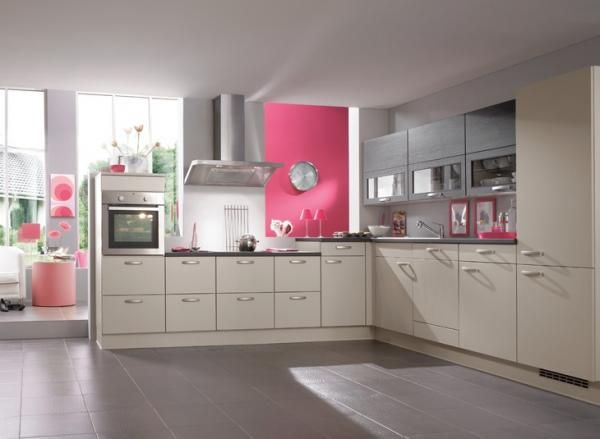 Cuisine rose et gris - Cuisine rose et gris Un vrai coup de coeur - nobilia küchen bewertung